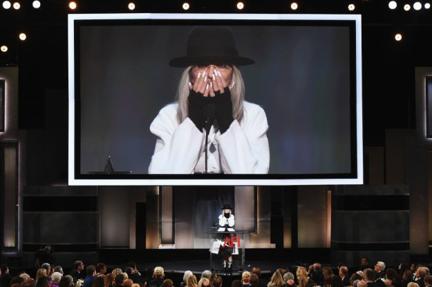 Last night, actor, producer, photographer, writer, and queen Diane Keaton was presented with the 2017 AFI Lifetime Achievement Award.