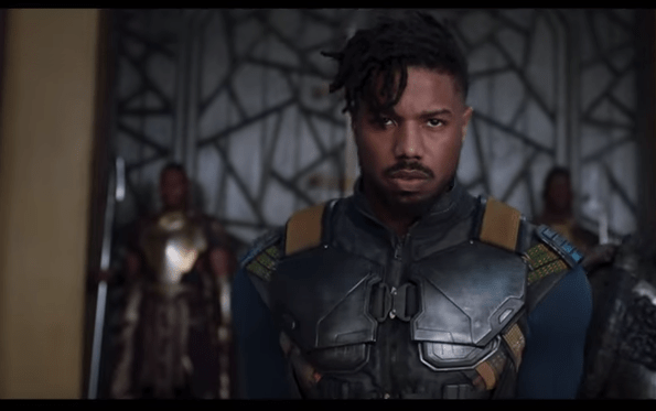 And Michael B. Jordan as the villain, Erik Killmonge.