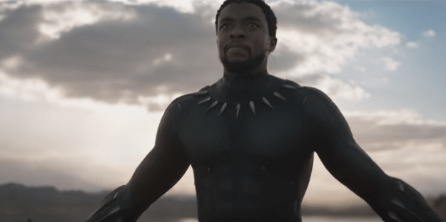 Marvel released its first look at Black Panther on Friday night.