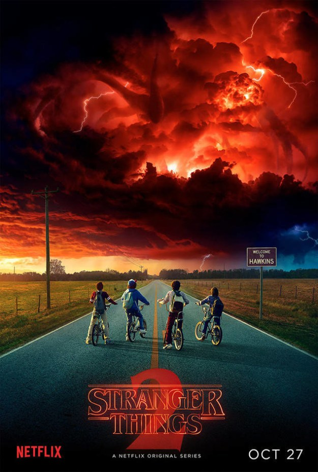 Because friends don't lie, I just want to let you know that Netflix finally announced the official premiere date for Stranger Things 2: October 27.