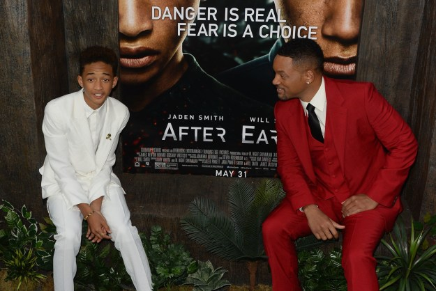 Will and Jaden don't exactly look like strangers.
