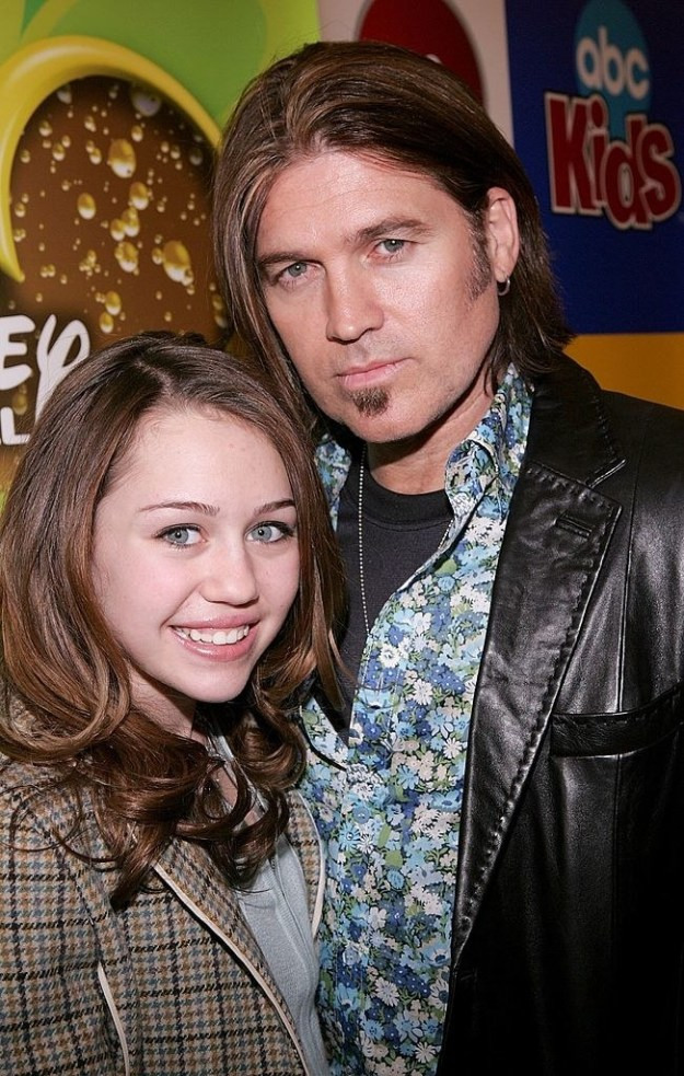 """Well Miley's dad, (who, of course, was also her Hannah Montana onscreen dad) Billy Ray Cyrus, recently told People magazine that her character's name was actually """"Kylie"""" and it got changed to """"Miley"""" because of him."""