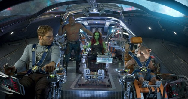 Now that Marvel Cinematic Universe is nearly 10 years old, the teaser started with clips of each Marvel Studios film from Iron Man all the way to Spider-Man Homecoming and then faded to black. Next, we're shown the Guardians of the Galaxy after Vol. 2 flying through space, staring at what appears to be a black hole in the galaxy.