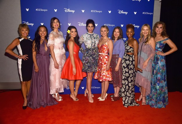 Disney is currently hosting its annual D23 Expo in Anaheim, California — and yesterday, the company made room for a little ~nostalgia~ when the voice actors behind your fave animated princesses all came together for a big surprise.