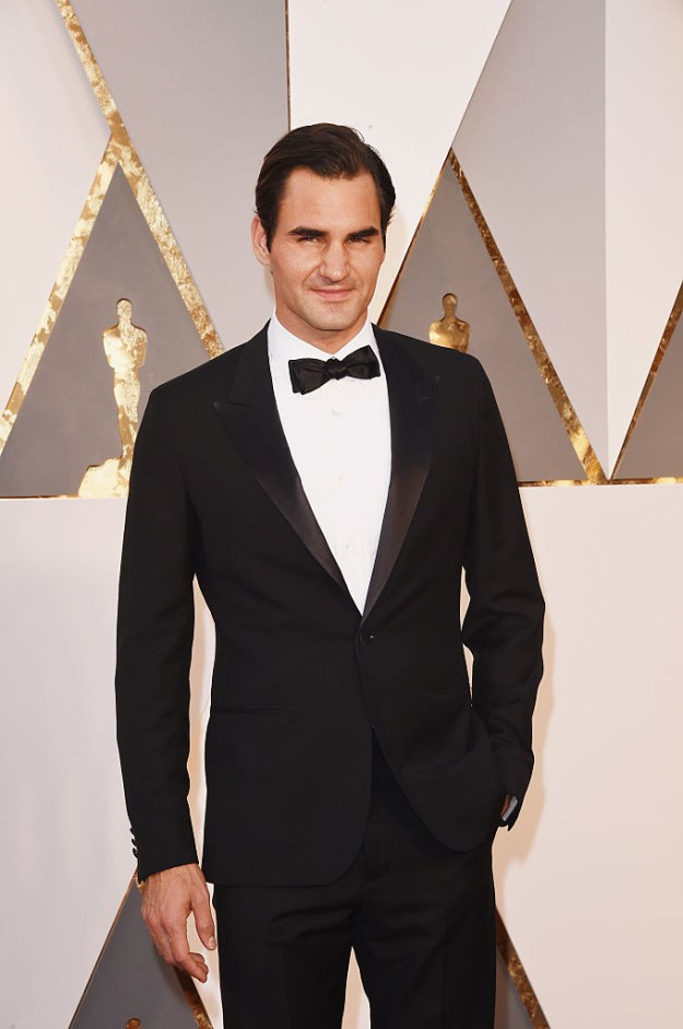 This is Roger Federer: tennis champion and probably like the classiest person alive.