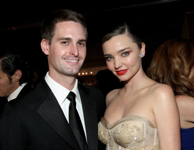 Miranda Kerr tied the knot with Snapchat founder Evan Spiegel back in May, and she's kept us hanging ever since for a glimpse of her wedding dress.