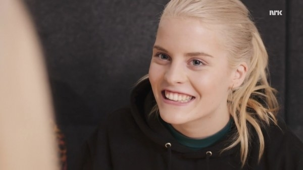 Many know her as Vilde on Skam.