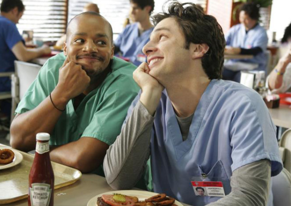 We all know Scrubs as one of the greatest medical sitcoms on television — as well as one of the greatest ~bromances~ on television to date.