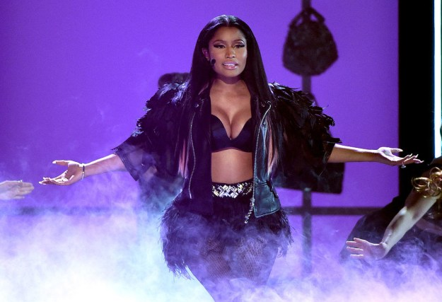 "Obviously you know Nicki Minaj — singer of ""Anaconda,"" inventor of ""Prague,"" and all-around queen."