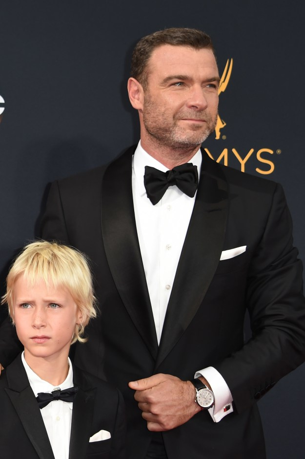 This is Liev Schreiber — great actor, even better father.