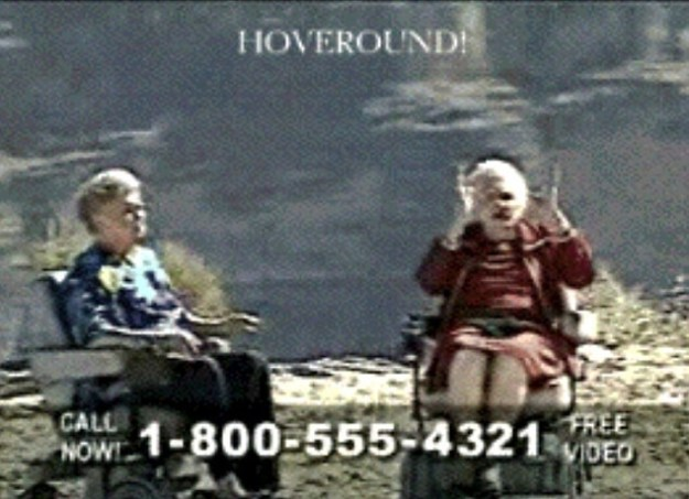SOS, emergency, go call the police, go call the governor, hell, call Bernice and Joy from Hoveround to zip over and get in on this search!