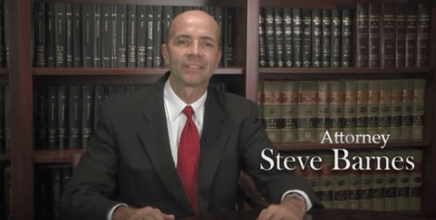 Injury attorney Steve Barnes...