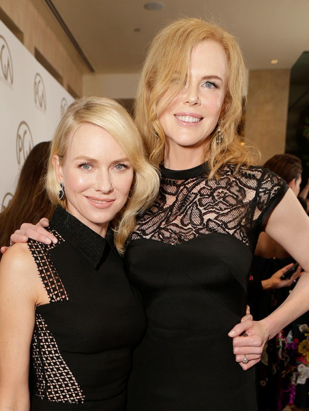 You guys, I have a secret to tell you. I am obsessed with Naomi Watts' friendship with Nicole Kidman.