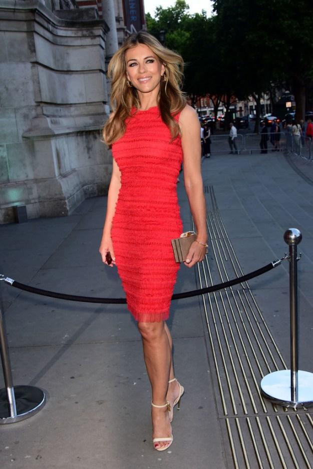 And guess what? Elizabeth Hurley is 52 years old.