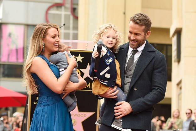 But to his wife Blake Lively and their two daughters (James and Ines), he's the number one daddy!