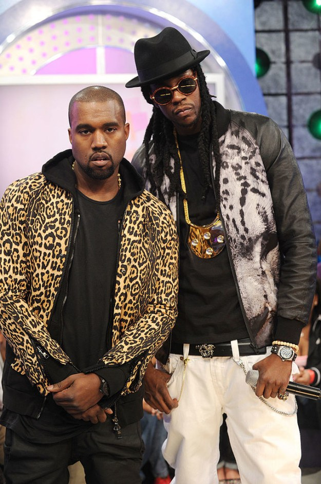 So, Kanye West and fellow rapper 2 Chainz go way back.