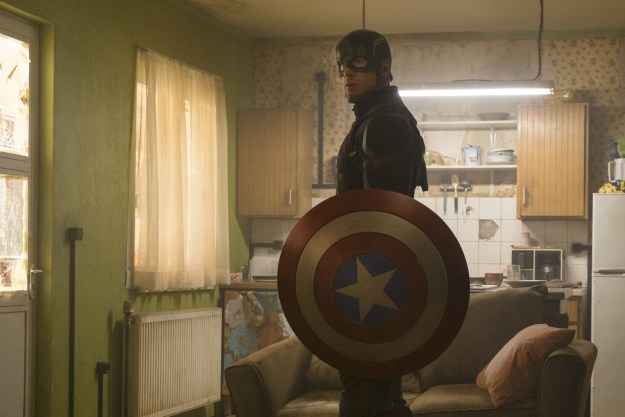 Captain America, aka Steve Rogers, played by light of our lives Chris Evans, is probably in a bunker somewhere brooding after the events of 2016's Captain America: Civil War.