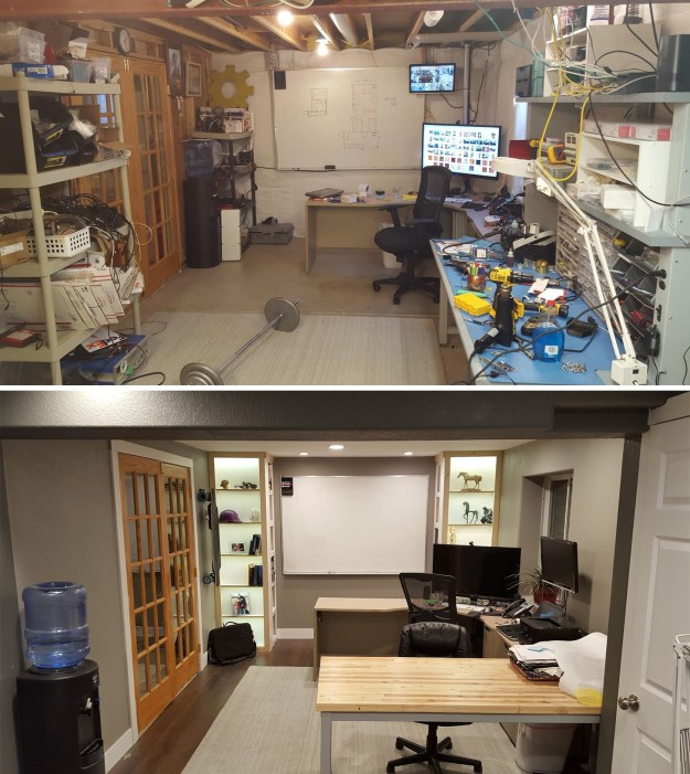 But maybe you completely renovated a drab garage into a fab workspace.