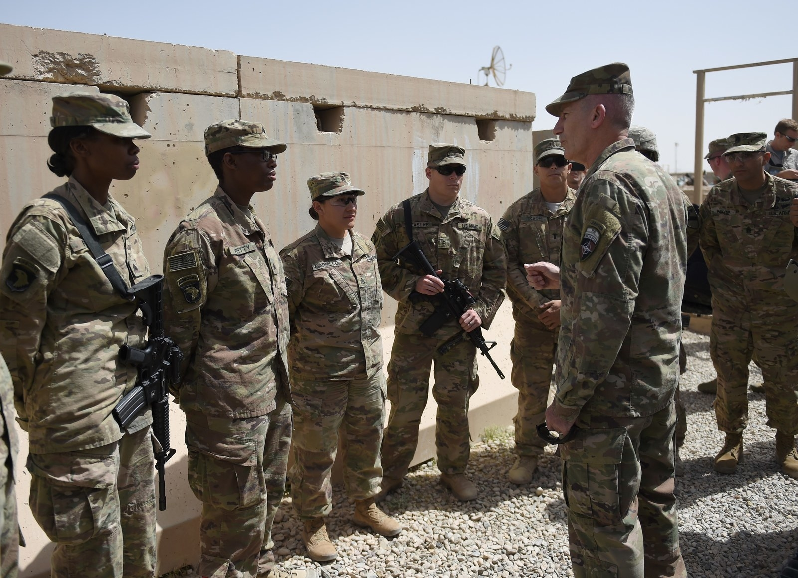 But Trump was reportedly reluctant to go along with the request and generally unhappy with the options available. According to NBC News, the president went as far as to call for Nicholson to be replaced, though no steps have yet been taken to make that a reality. Mattis meanwhile gave authority in June to add additional troops but opted instead to wait for the review to be completed.
