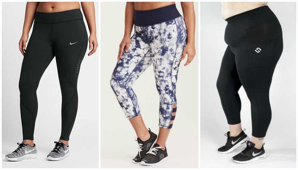 I Tried Six Pairs Of Plus Size Workout Leggings To Find