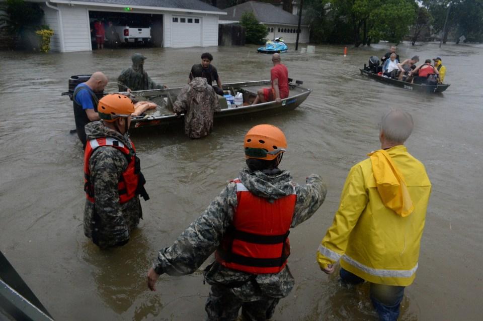 Cypress Creek, Houston, Aug. 28.