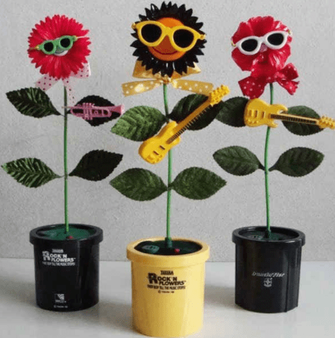 These dancing plants.