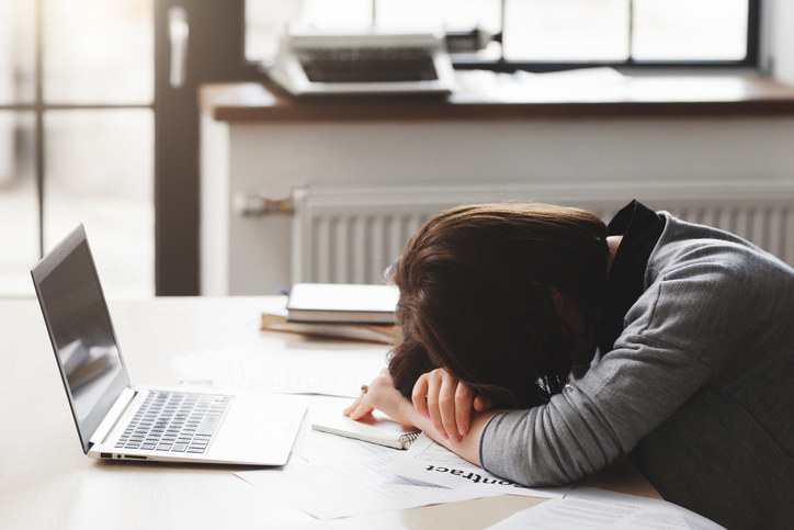 Do you have to force yourself to stay awake at work? Then you might want to consider moving to Japan. Not all, but many places will just assume you have been working extra hard and let you catch some Z's in peace.