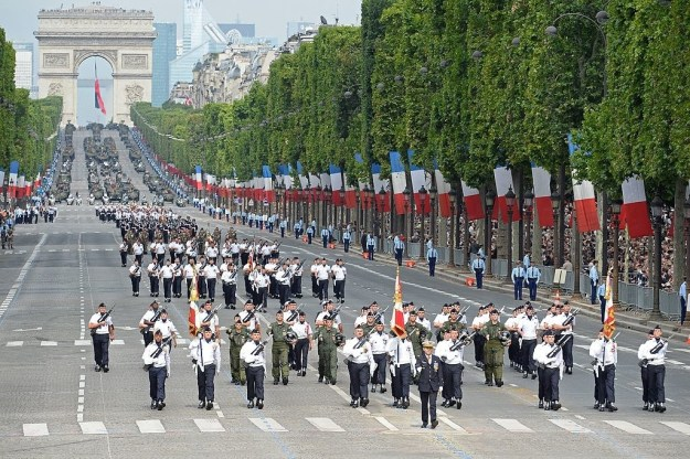 If you're in town for July 14, get ready for an impressive military parade.