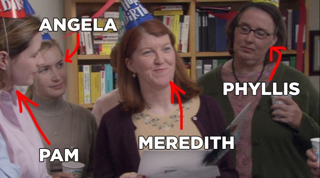 So, surely you'd recognize all of the characters who appeared on the show in multiple episodes, throughout multiple seasons, right? Like these four familiar faces.