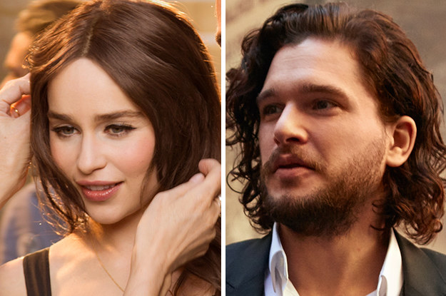 But I'm just very excited to share some great news with you: We've just been blessed with Emilia Clarke and Kit Harington's latest project.
