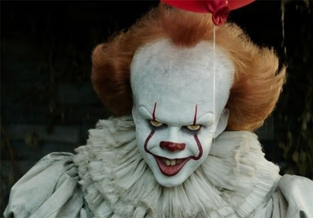 This is that weird clown from the new movie It.