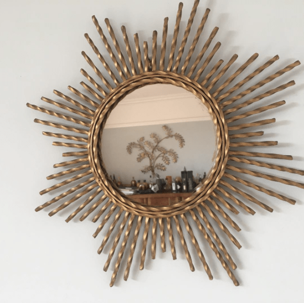 Or, maybe you make a point to consider what a decorative mirror will reflect before you choose a spot to hang it.