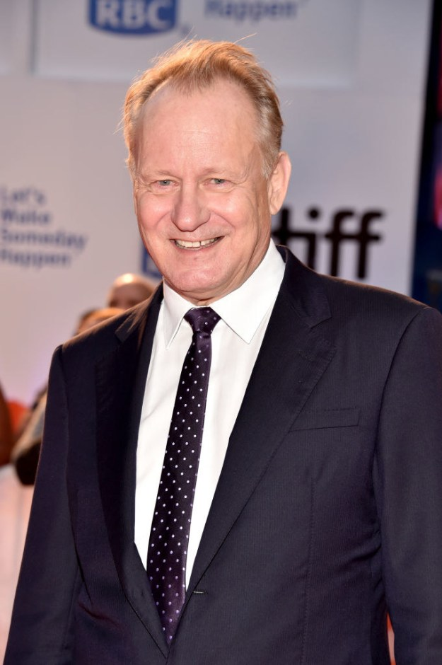 Obviously, as you saw from my really good family tree, Stellan Skarsgård is the patriarch of the family.