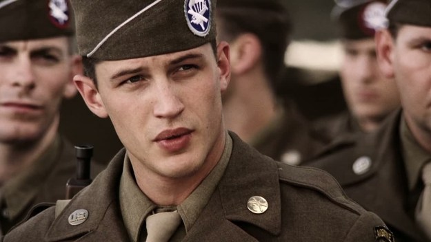 Band of Brothers just happened to be the first acting role for one of my favourite Hollywood daddies, Tom goddamn Hardy.