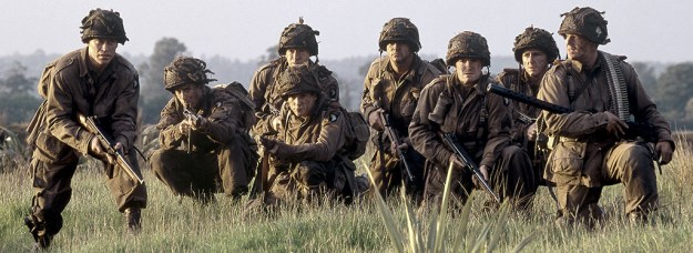 If, like me, you weren't aware, there was once a TV show in 2001 called Band of Brothers. You probably did know that, I'm just weird.