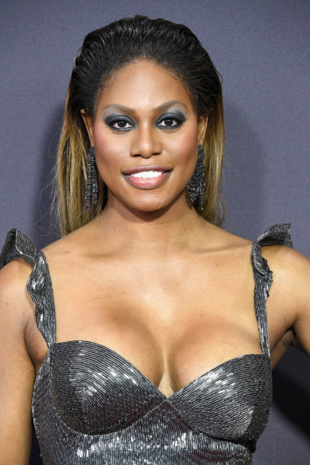 My bb Laverne KNOWS she is killing the Emmys red carpet.