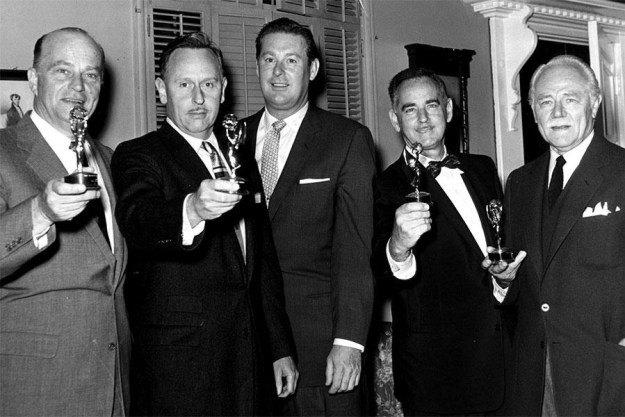 Of course, that means things have been really white throughout the Emmys' 69-year history.