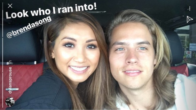 After seeing The Suite Life of Zack & Cody mini-reunion with Brenda Song on Dylan Sprouse's InstaStory the other day...
