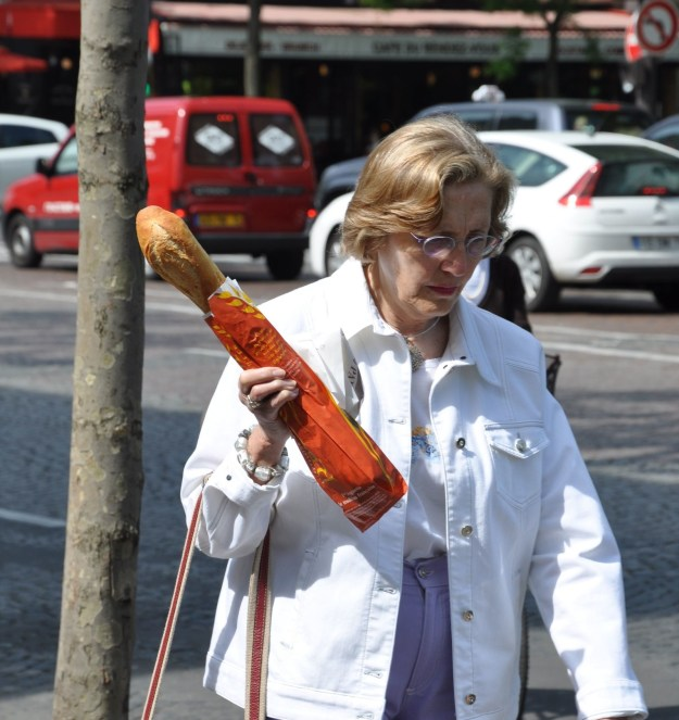 But if you really want to fit in, just buy a baguette.