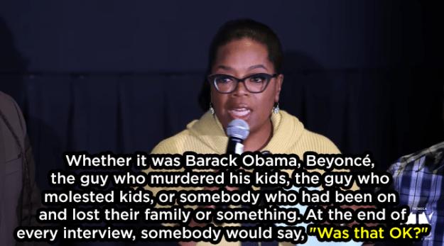 It didn't matter who it was:
