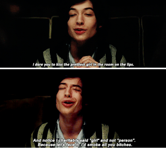 If you clicked on this post, I'm guessing you already know and love Ezra Miller from his extensive filmography.