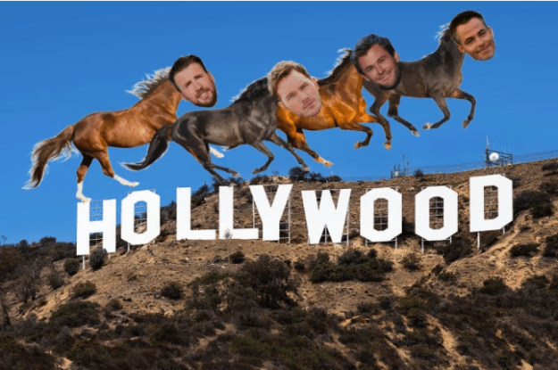 Together with Chris Pine and Chris Hemsworth, they are the Four Horsemen of the Apoca-Chris.