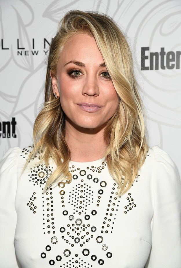Well, I guess Kaley Cuoco is a method actor because the story she told on Jimmy Kimmel Live could've been taken right out of Penny's playbook.