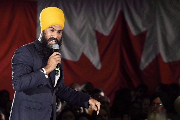This is Jagmeet Singh, an Ontario politician currently running to be leader of the federal NDP.