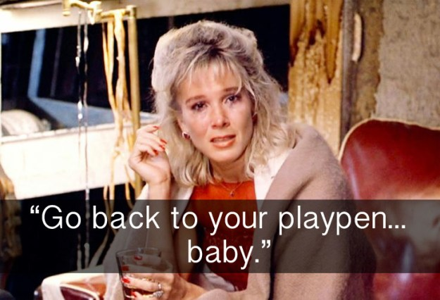 When Penny delivered the absolute most savage burn to Baby in Dirty Dancing.