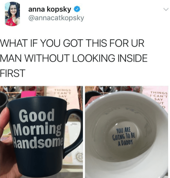 And at least you didn't get this mug: