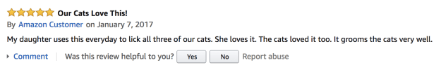 Here are some reviews: