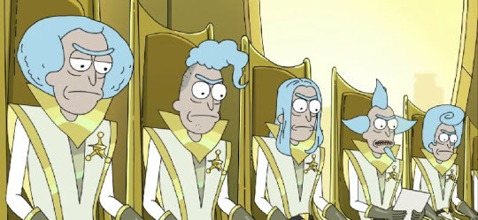 Rick And Morty Council Ricks