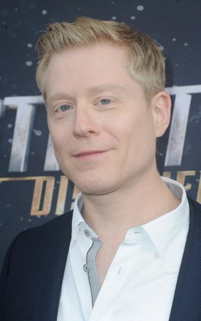 Anthony Rapp at the premiere of Star Trek: Discovery on Sept. 19, 2017, in Los Angeles.