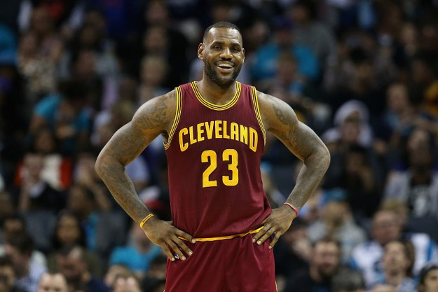You know the drill: This is LeBron James, the NBA superstar.